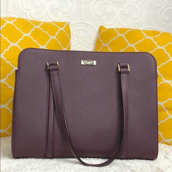 kate spade Handbags - 🌸OFFERS?🌸Kate Spade All Leather Burgundy Purse